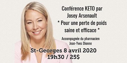 ST-GEORGES - Conférence KETO - Pour une perte de poids saine et efficace!