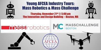 Young AFCEAN's Industry Tours: Mass Robotics & Mass Challenge