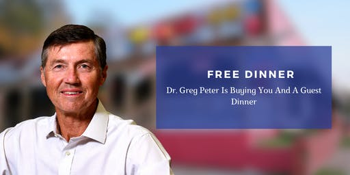 Solving Pain Naturally   FREE Dinner Event with Dr. Greg Peter, DC