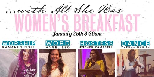 Women's Breakfast: With All She Has