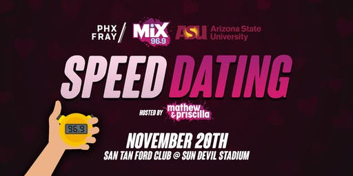Speed Dating at San Tan Ford Club at Sun Devil Stadium