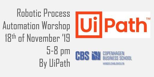 UiPath Live Academy - Robotic Process Automation Workshop