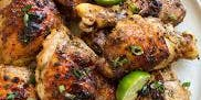 Jerk Chicken with Pineapple Fried Rice
