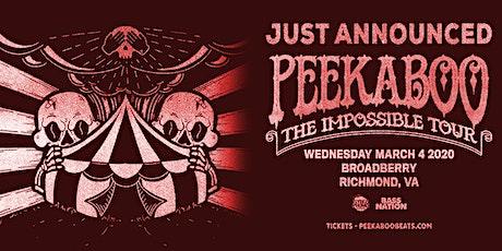Peekaboo tickets