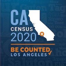 Office of Mayor Eric Garcetti, Census 2020 Initiative logo