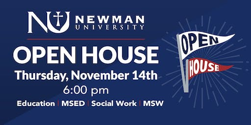 Newman Open House -  Nov. 14th