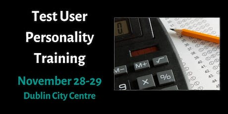 Training in Psychometric Testing - Test User: Occupational Personality tickets