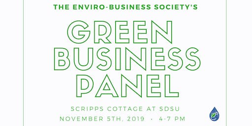 Green Business Panel with Enviro-Business Society