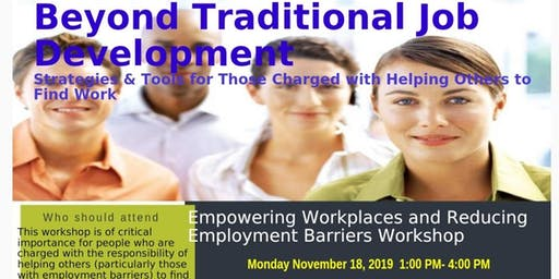 Empowering Workplaces and Reducing Employment Barriers Workshop