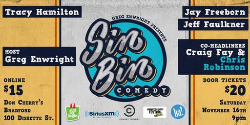 Sin Bin Comedy Show # 48