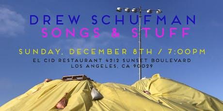 Drew Schufman: Songs & Stuff tickets