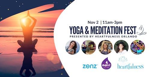 Yoga and Meditation Fest