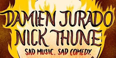 Damien Jurado + Nick Thune - Sad Music. Sad Comedy tickets