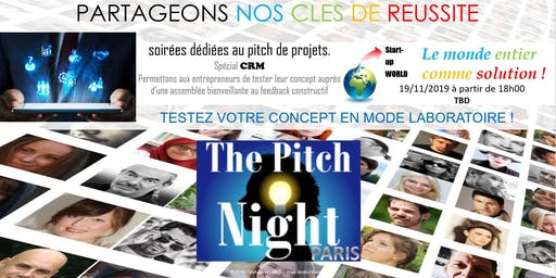 "Pitch night Paris spécial ""CRM"""