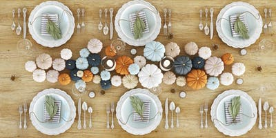 Turn the Tables: Thanksgiving Tablescaping - Short Hills
