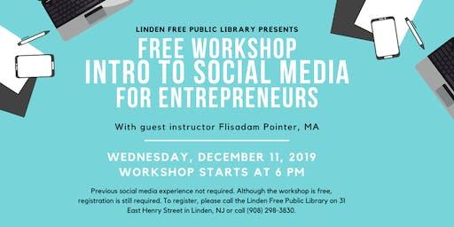Free Workshop: Social Media for Entrepreneurs