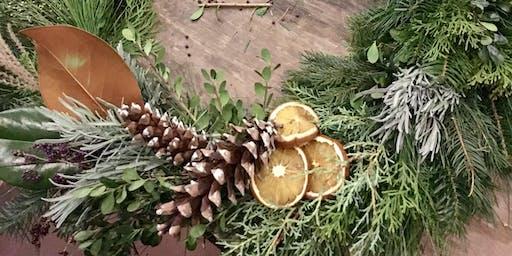 Wine & Wreath Workshop: Harvest Ridge Winery