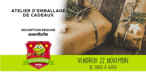 Atelier emballage