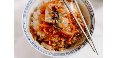 Kimchee Workshop with Chef Jean from Kimchee Jeanius (Berkeley) (01-12-2020 starts at 11:00 AM) tickets