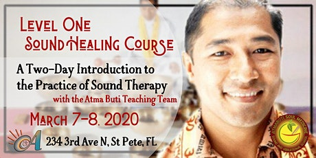 Level 1 Sound Healing Course: Intro to Himalayan Singing Bowl Therapy tickets