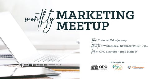Monthly Marketing Meetup - Customer Value Journey