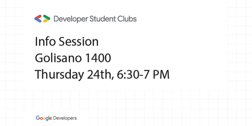Developer Student Club RIT - Info Session