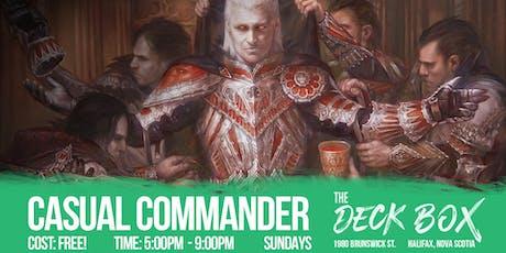 Commander tickets