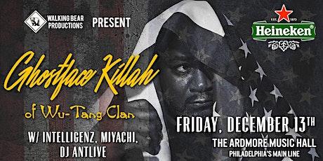 Ghostface Killah (Wu Tang Clan) tickets