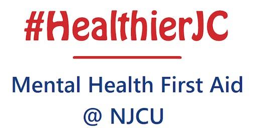 #HealthierJC Mental Health First Aid training @ New Jersey City University