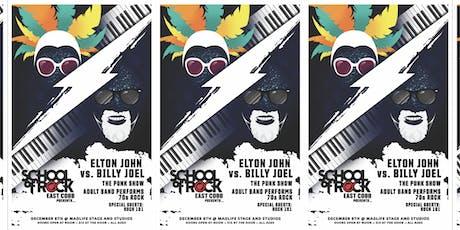 School of Rock East Cobb Winter Event: Elton John vs. Billy Joel tickets