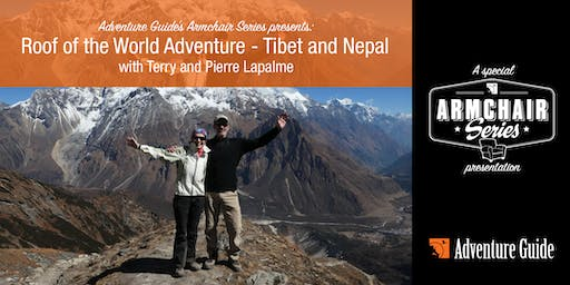 Armchair Series Presentation: Roof of the World Adventure - Tibet and Nepal