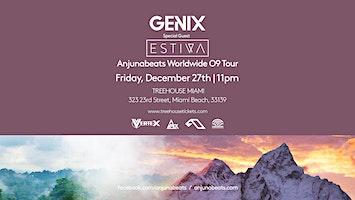 Anjunabeats Worldwide 9 Tour with Genix & Estiva @ Treehouse Miami