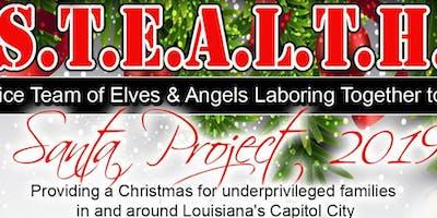S.T.E.A.L.T.H. Santa Project Brunch