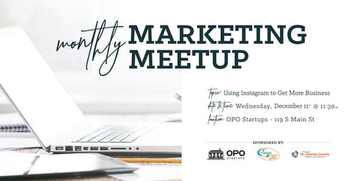 Monthly Marketing Meetup - Using Instagram to Get More Business