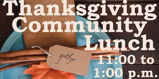 Good Shepherd Lutheran Thanksgiving Lunch Nov. 28, 2019