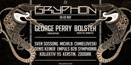 Gryphon w/ George Perry, Bolster, Sven Sossong, Kerstin. uvm