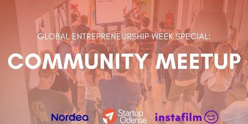 Startup Odense Community Meetup: Nordea Startup & Growth x Instafilm