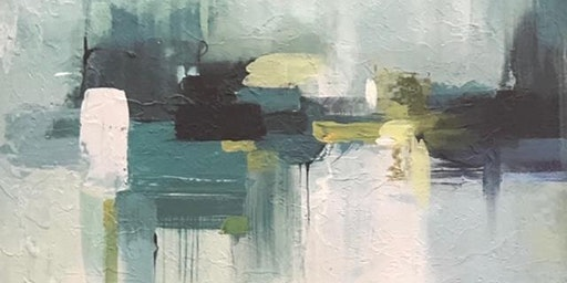 Ladies Night: Abstract Painting w/Adrienne Clement (Perkins/Highland)