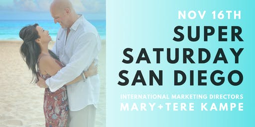 Super Saturday San Diego feat. IMD Mary and Tere Kampe
