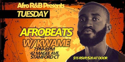 Afro  R&B Presents: Afrobeats w/ Kwame Halloween Edition