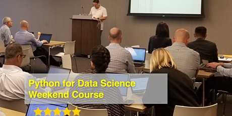 Python for Data Science (Weekend course) tickets