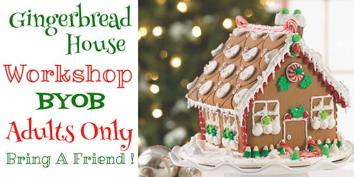 2nd Annual Adult Gingerbread House Workshop