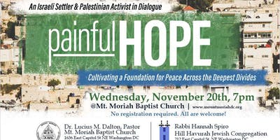 Painful Hope: An Israeli & Palestinian Activist in Dialogue