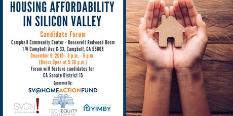 Housing Affordability in Silicon Valley: Candidate Forum Series #6 tickets