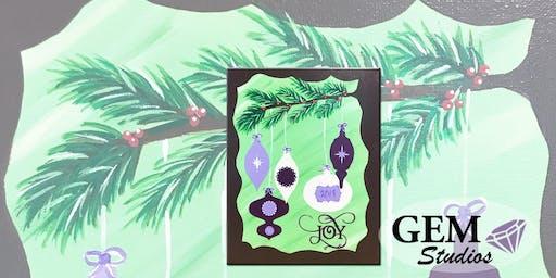 Ornaments Mixed Media