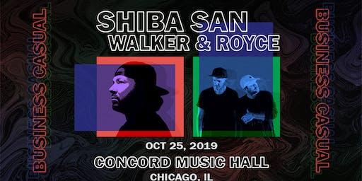 Shiba San x Walker & Royce - Business Casual