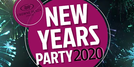 2020  New Years Party @ the Crowne Plaza!