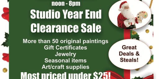 Armory Art Center Studio Sale