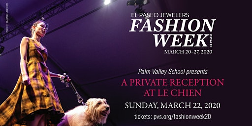 Palm Valley School at Fashion Week El Paseo