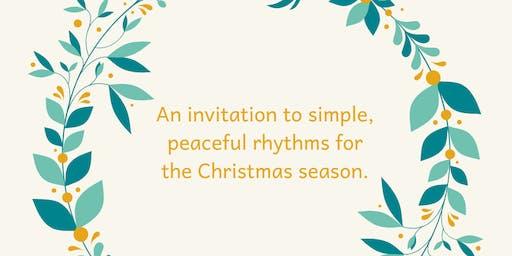 Peaceful Rhythms for the Christmas Season
